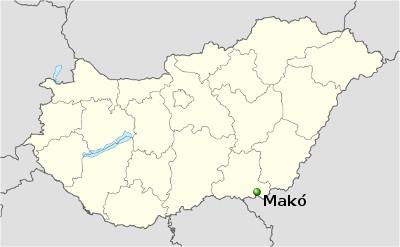 makó térkép A Levanter Lakóautó Kft. honlapja   lakóautós utazási információk  makó térkép